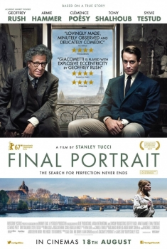 Final Portrait – L'arte di essere amici (2018)